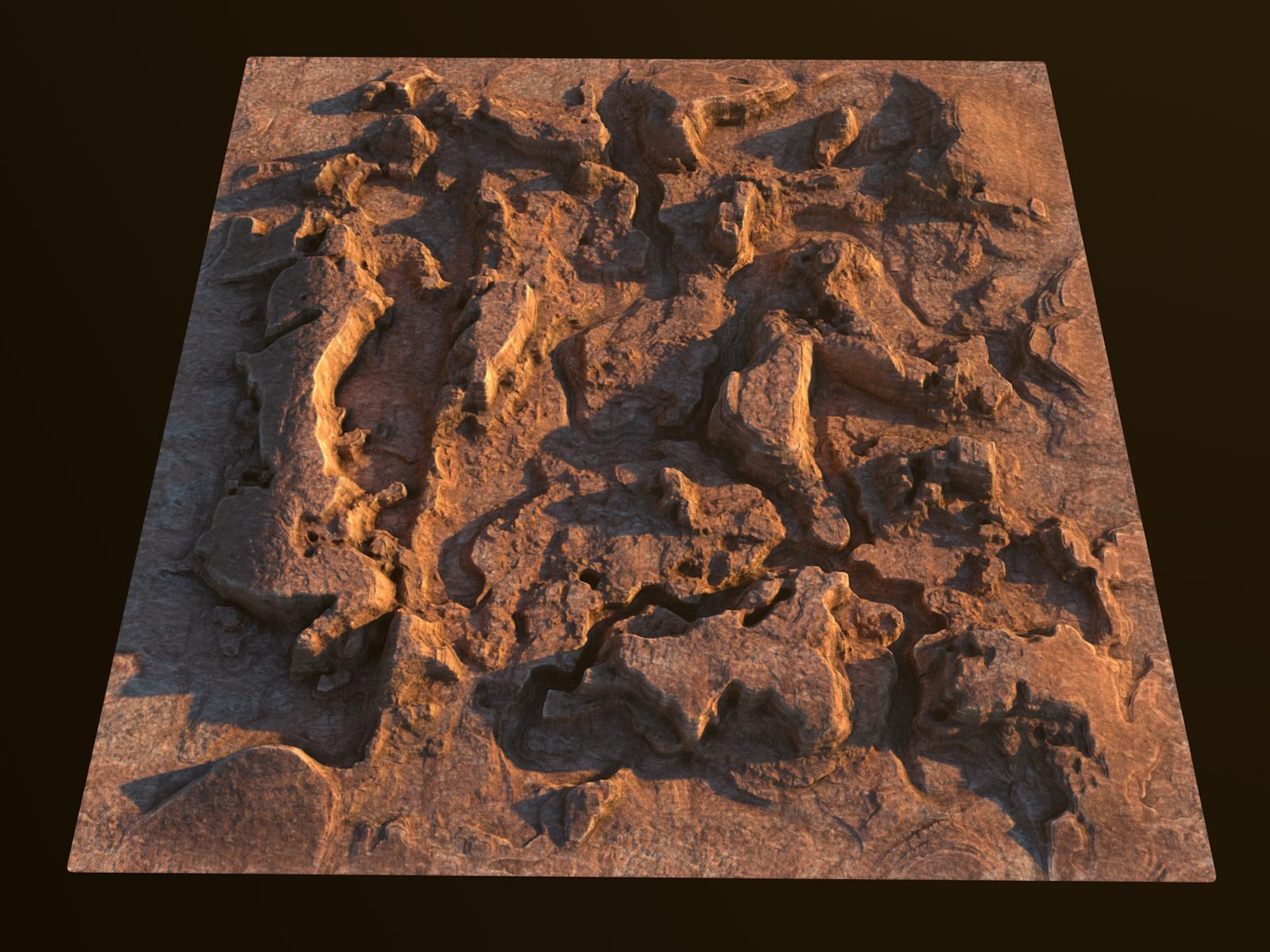 Infinite Canyons— 3D Canyon Landscape Generator for Cinema