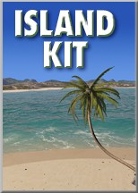 C4Depot Island Kit for Cinema 4D