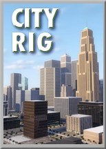 City Rig — 3D virtual city and city generator for Cinema 4D by C4Depot.com