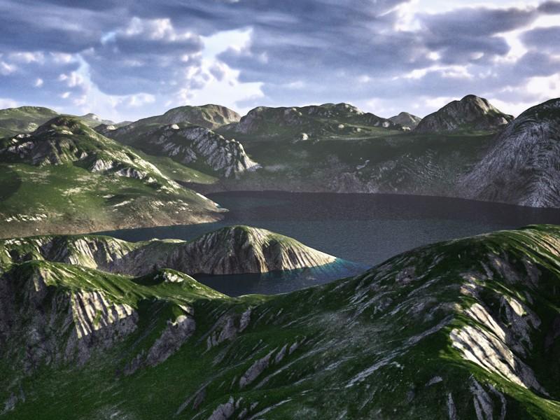 Infinite Valleys - 3D Landscape Generator for Cinema 4D - 3D