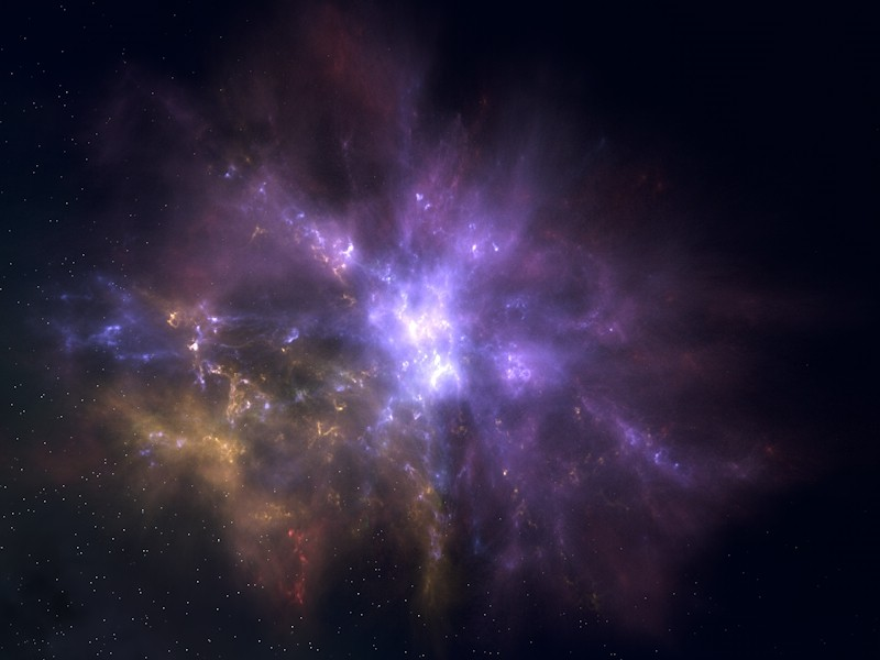 Infinite Space — 3D outer space environment for Cinema 4D with 3D nebulae