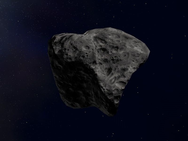 Infinite Space — 3D outer space environment Asteroid