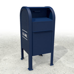 US Mail drop box