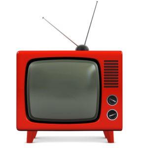 Plastic TV set