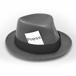 Reporter's hat