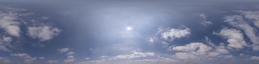Hazy Mid-Day HDRI panorama #41
