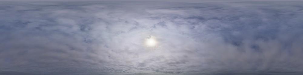 Overcast Day HDRI Sky Panorama #47