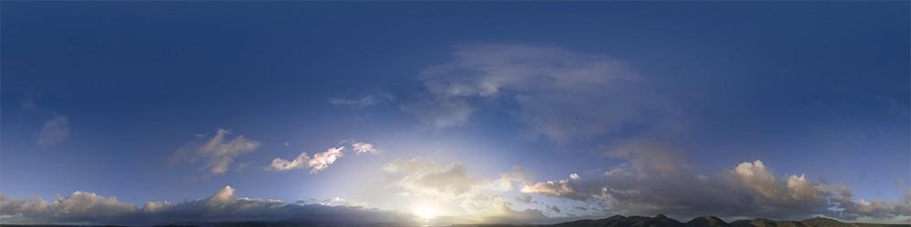 HDRI Sky Panoramas for 3D